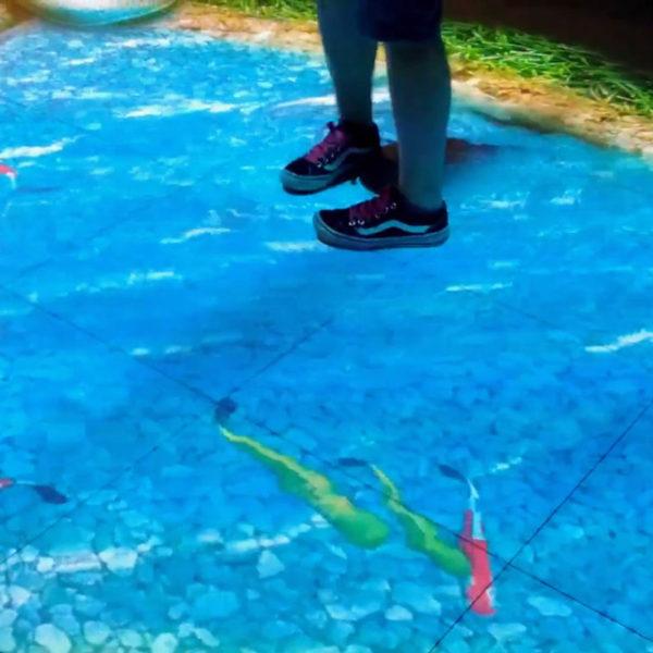 Interactive Floor Display